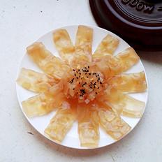 砂锅水晶猪皮冻