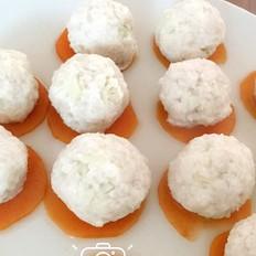 宝宝辅食-萝卜肉丸