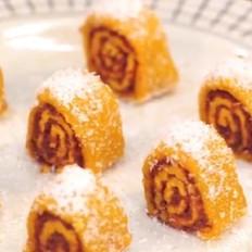 南瓜花样做法,超级好吃的五珍粉南瓜甜点,馋哭邻居的美味!