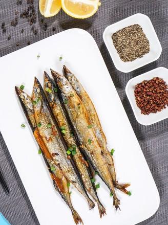 烤秋刀鱼的做法