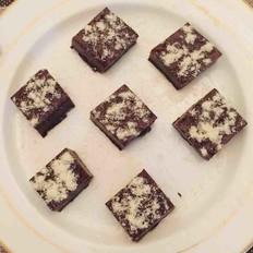 简易白凉粉巧克力布丁