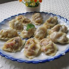 牛肉菌菇蒸饺