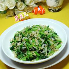 虾皮炒芹菜