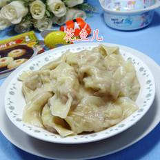 香菇圆白菜猪肉馅饺子