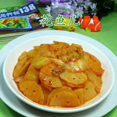 泡菜炒土豆