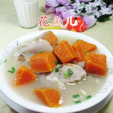 南瓜猪蹄汤