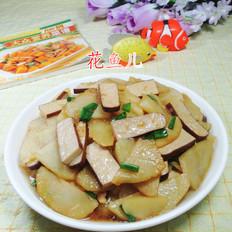 鸡蛋干炒土豆