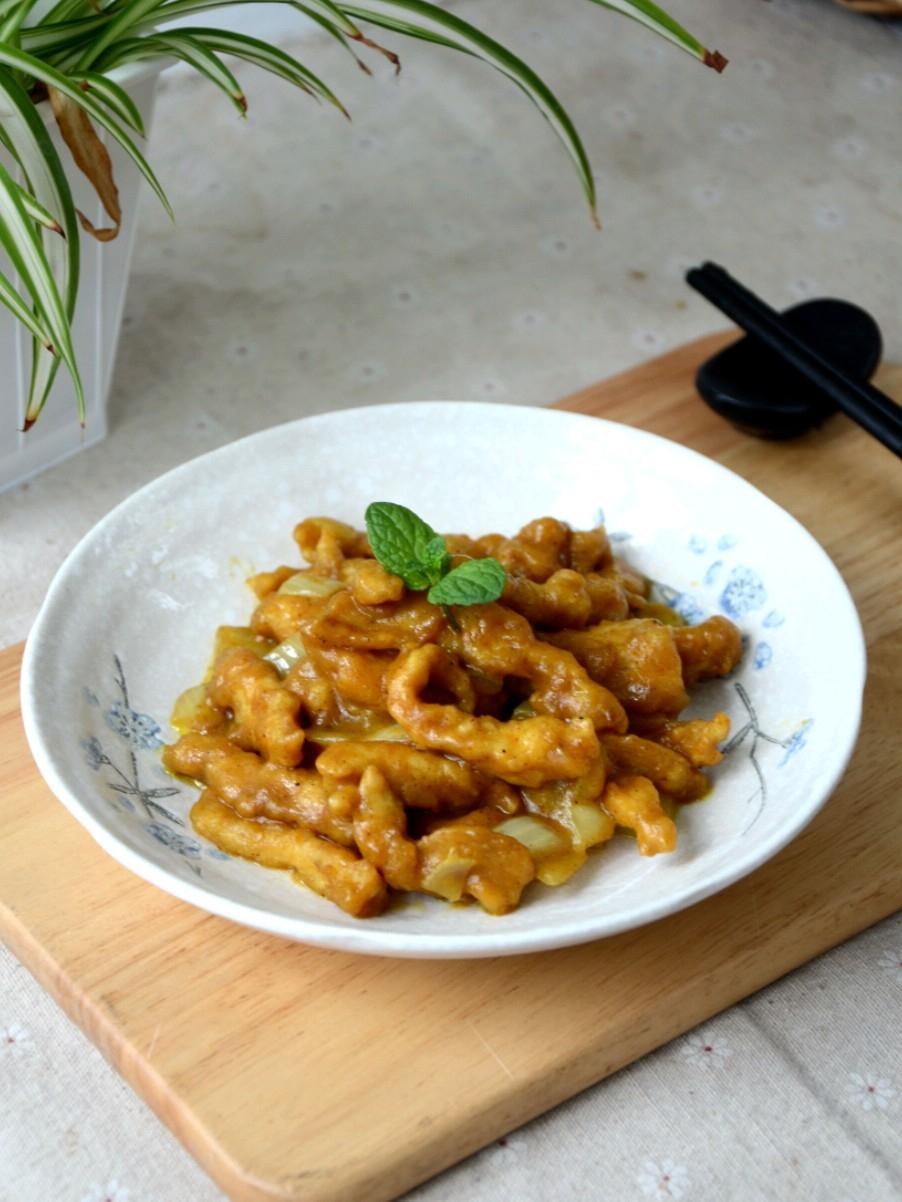 咖喱溜肉段