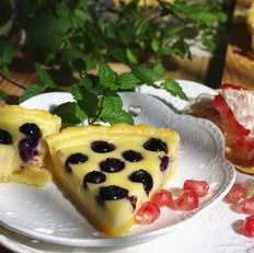 蓝莓奶酪派