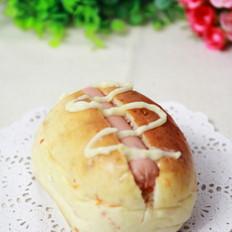 红萝卜热狗早餐包