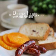自制黑椒早餐肠
