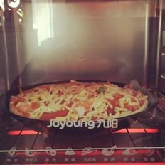 新手做披萨