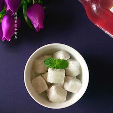 火龙果奶昔冰块