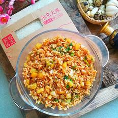 土豆胚芽米炒饭