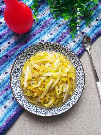 清炒蒜黄的做法