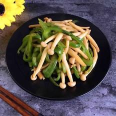 青椒海鲜菇
