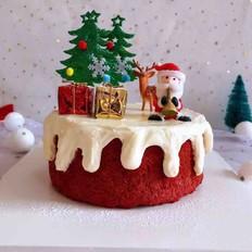 圣诞红丝绒蛋糕
