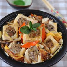 香菇猪肉酿豆腐煲