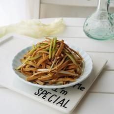 凉拌五香豆腐丝