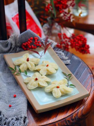 梅花蒸饺的做法