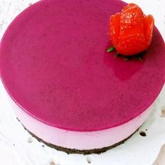 火龙果慕斯蛋糕
