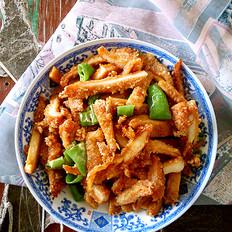 尖椒炒鸡排