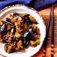 肉末烧茄子——夏天必备菜