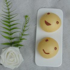 笑脸红薯馒头