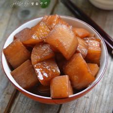 红烧白萝卜
