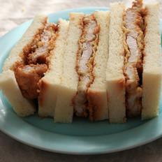 日式炸猪排三明治