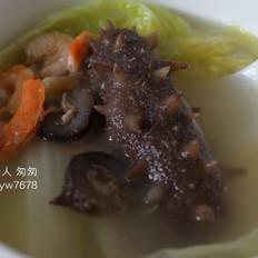 海参白菜汤——海参的家常做法