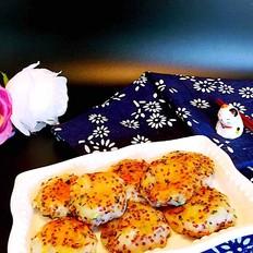 葱香藜麦土豆泥饼