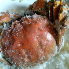 盐焗大闸蟹