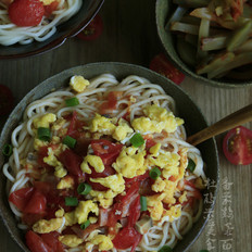 番茄鸡蛋面