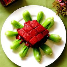 靓丽糟香的红糟肉方