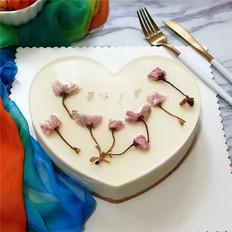 樱花慕斯蛋糕