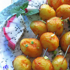 酱香烤土豆