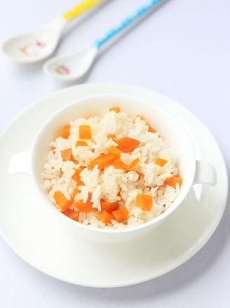 胡萝卜饭的做法