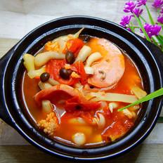 番茄培根片汤