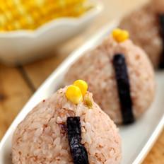 榨菜丝双米饭团