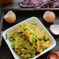 毛豆煎鸡蛋