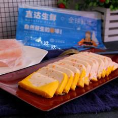 南极磷虾蒸虾糕