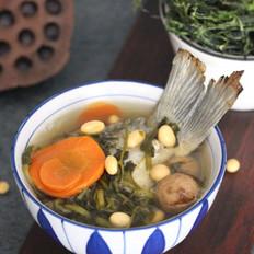 喝鱼汤喽 | 西洋菜干鲫鱼汤