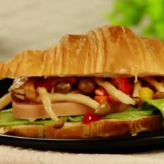 羊角三明治