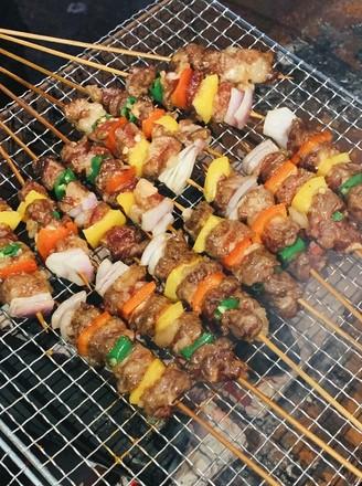 零难度鲜香烤牛肉的做法