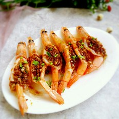 蒜蓉粉丝开背虾