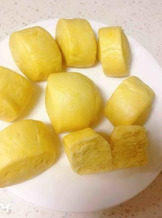 刀切南瓜馒头的做法