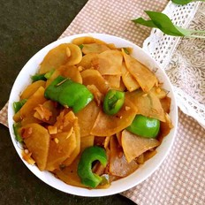 青椒土豆片