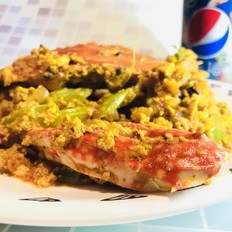 泰式咖喱蟹(快手版)