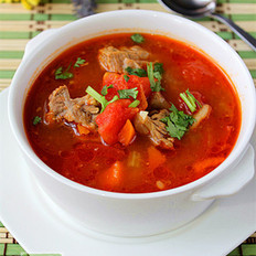 番茄咖喱炖牛腩